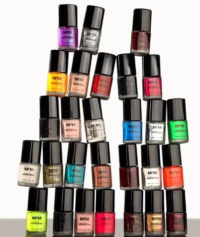 M2m natural nail polish