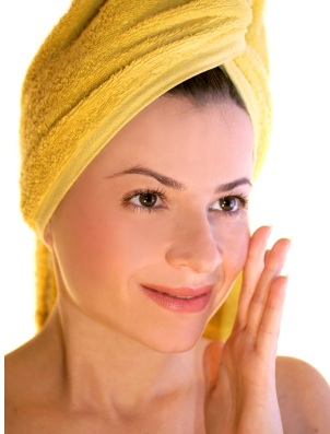 At home beauty ritual pampering