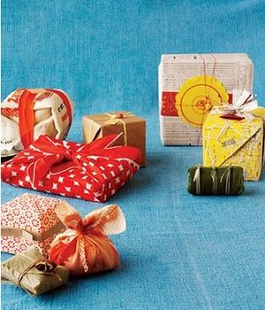 Eco chic gift wrapping ideas