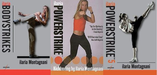 Ilaria montagnani kickboxing workout dvd