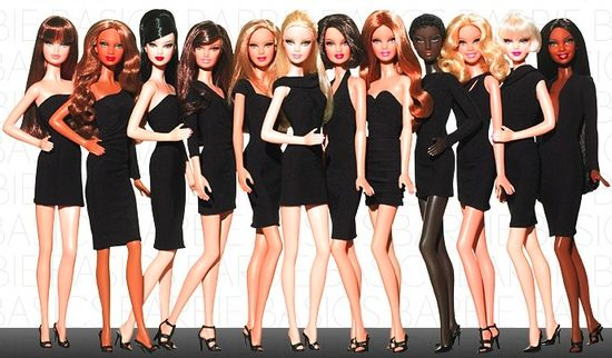 Barbie basics little black dress lbd