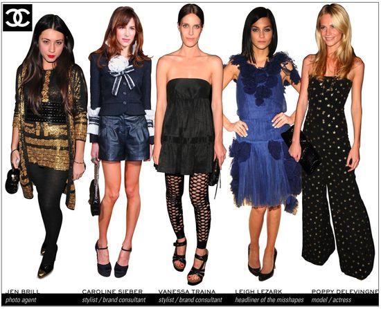 Chanel brand ambassadors