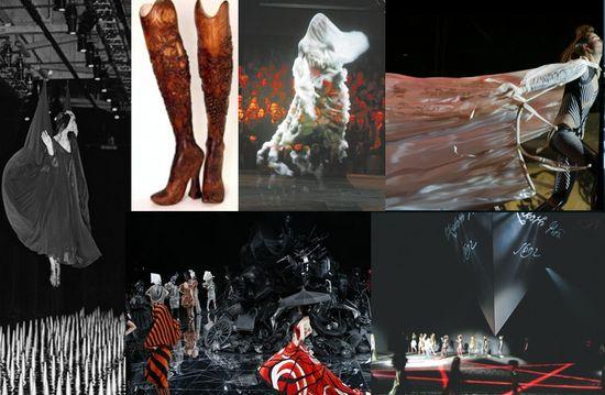Alexander mcqueen runway show presentations