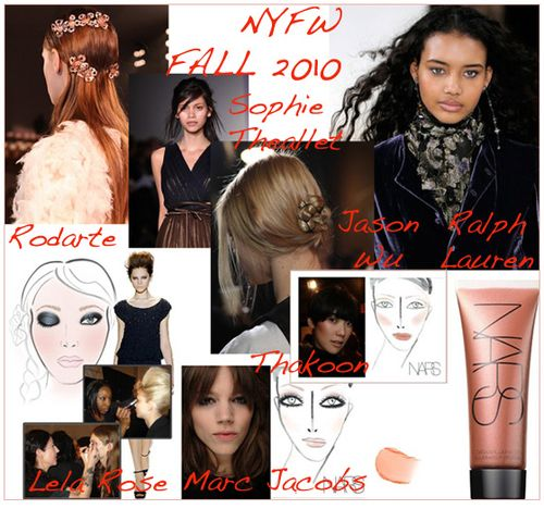 New york fashion week fall 2010 beauty trends