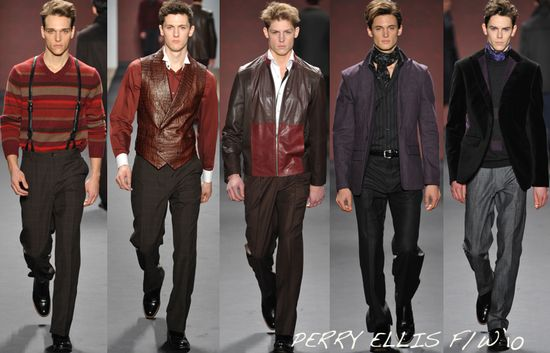 Perry ellis menswear fall 2010