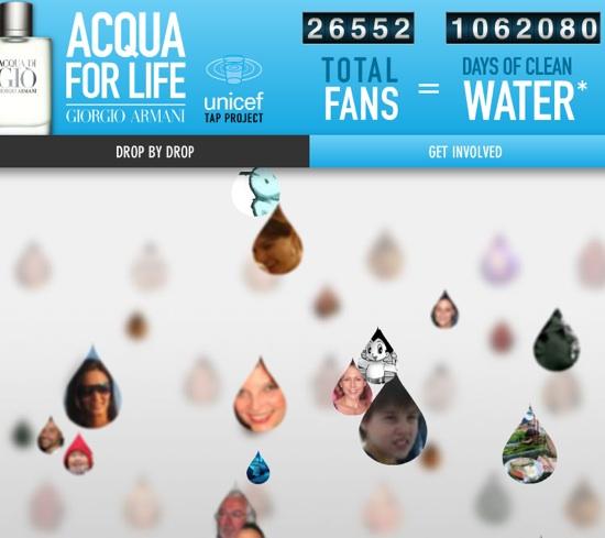 Acqua di gio clean water month