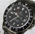 Rolex dlc black diamond like coating