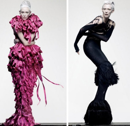 Tilda swinton fashion