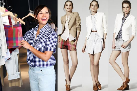 Rashida jones theory fashion for charity
