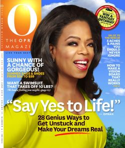Oprah magazine june 2010