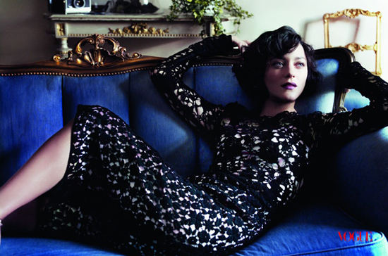 Marion cotillard in vogue