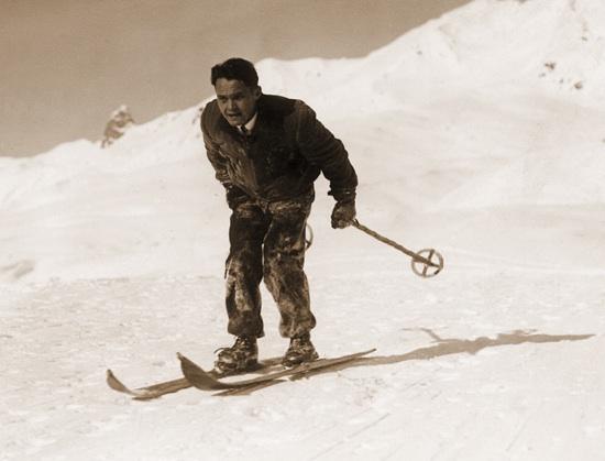 Walter steiger sr skiing