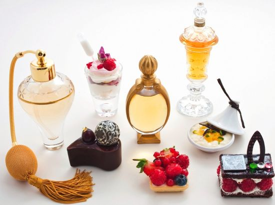 Harrods afternoon tea perfume inspired pastries
