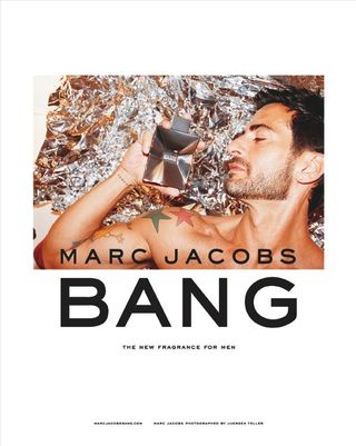 Marc jacobs bang ad