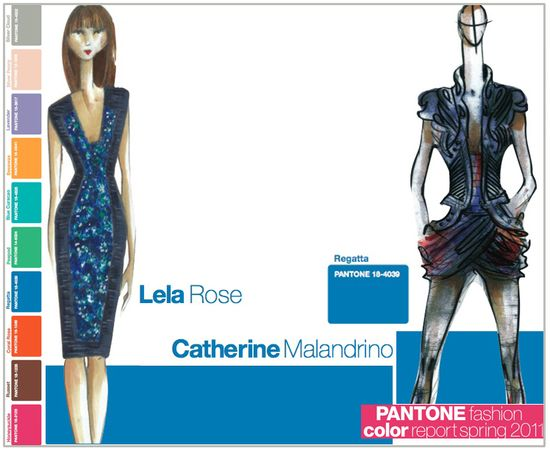 Pantone fashion color report spring 2011 regatta blue