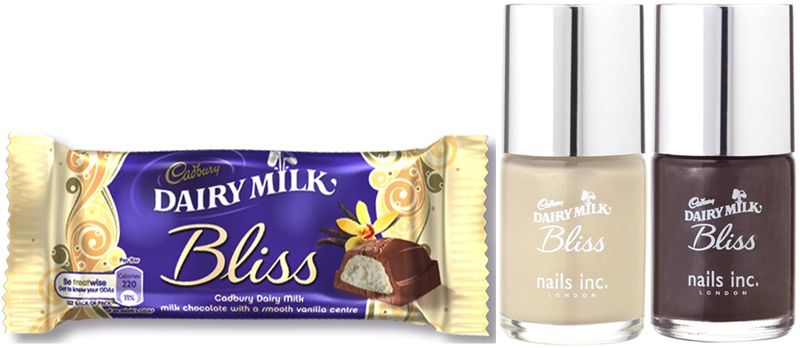 Cadbury bliss chocolate nail polish