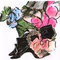 Roger vivier bruno frisoni floral sandals