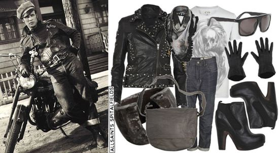 Allsaints leather jackets