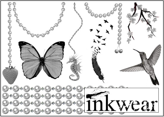 Inkwear temporary tattoos