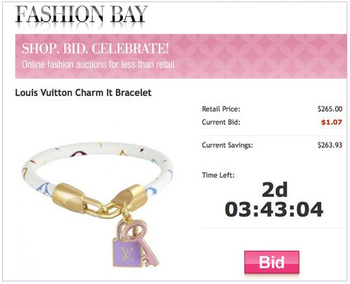 Fashion bay online auction