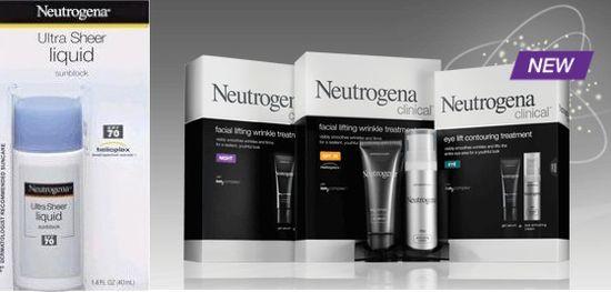 Neutrogena sun skincare