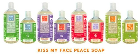 Kiss my face peace castile soap