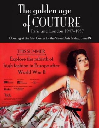 Golden age of couture exhibition