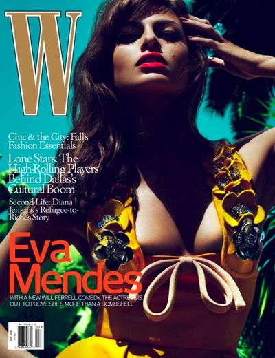 Eva mendes w magazine cover article