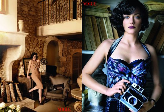 Marion cotillard vogue spread