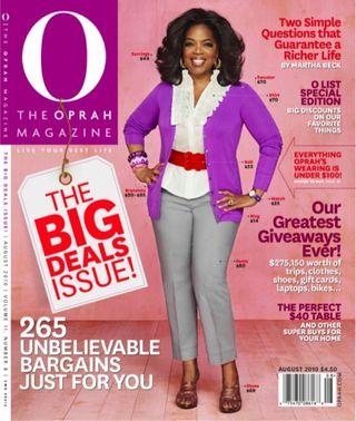Oprah magazine big deals issue