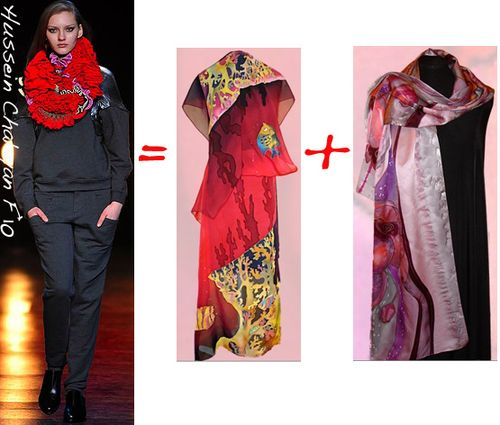 Scarves hussein chalayan