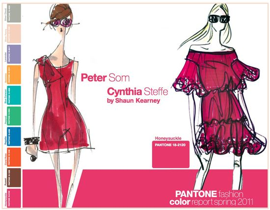 Pantone fashion color report spring 2011 red