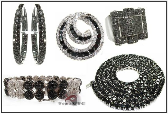 Black diamonds black diamond jewelry