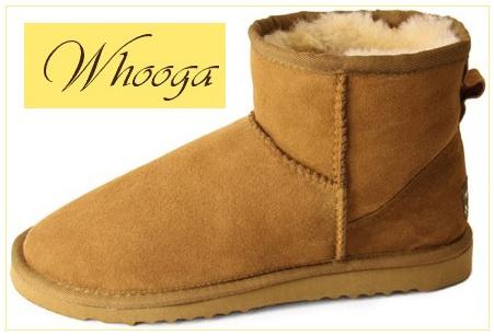 Whooga sheepskin ugg boots