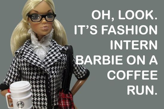 Fashion internships barbie