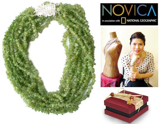 Novica handmade necklace accessories
