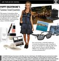 Poppy levingne chanel summer travel essentials