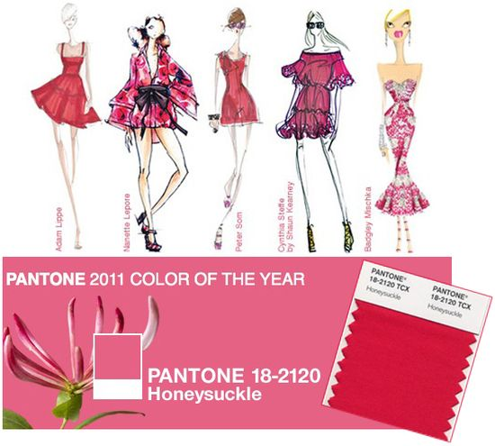 Honeysuckle pantone color of the year 2011