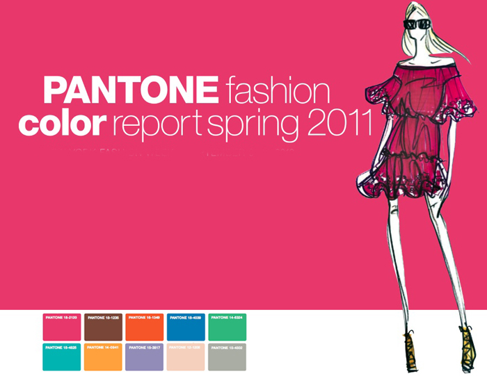 Pantone fashion color report spring 2011