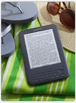Kindle 3g wife e-reader