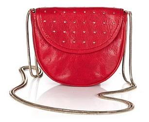 Red crossbody mini bag handbag purse