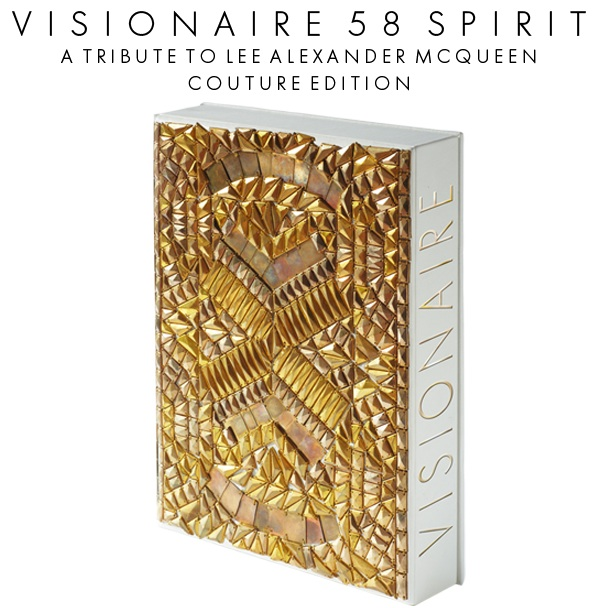 Visionaire 58 spirit lee alexander mcqueen