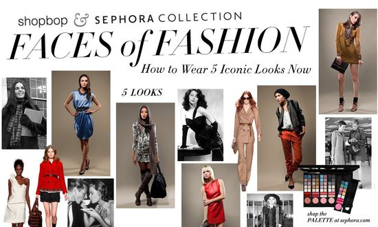 Shopbop sephora faces of fashion