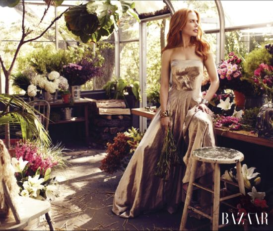 Nicole kidman harper's bazaar fashion magazine covers