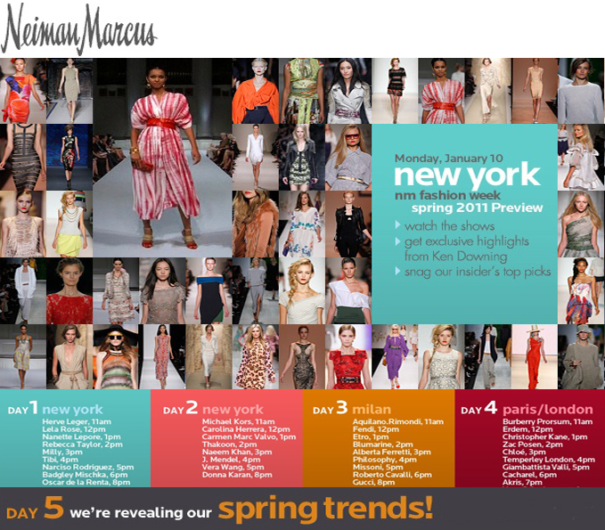 Neiman marcus fashion shows picks