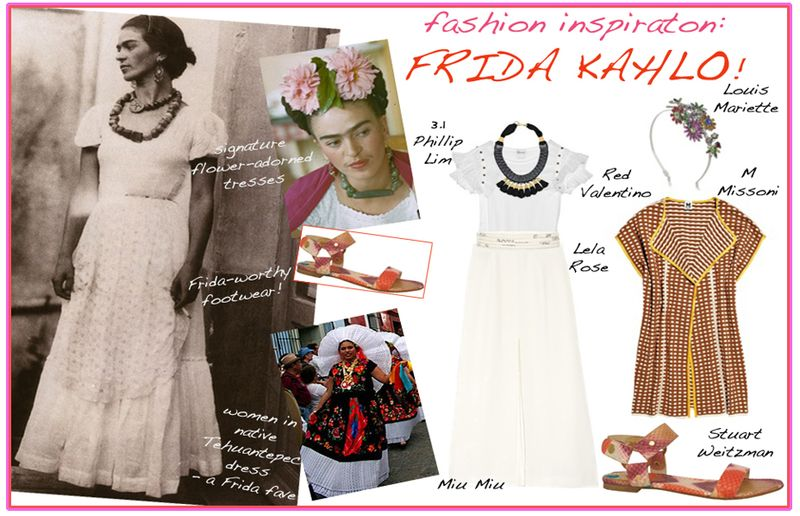 Fashion inspiration frida kahlo