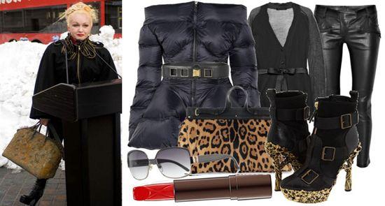 Cyndi lauper fashion style