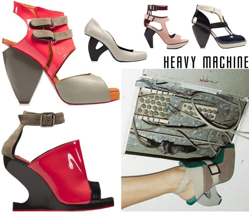 Heavy machine shoes sandals