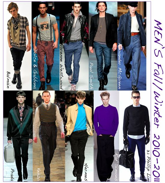 Mens fall fashion 2010 runway trends copy