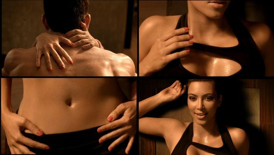 Kim kardashian skechers super bowl ad